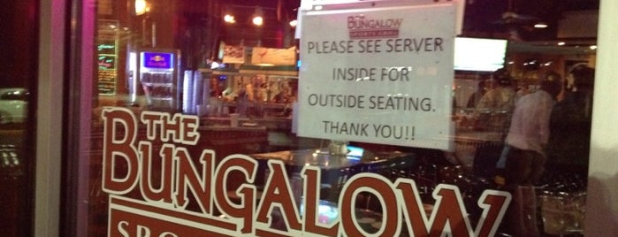 The Bungalow Sports Grill is one of Local Redskins Rally Bars.
