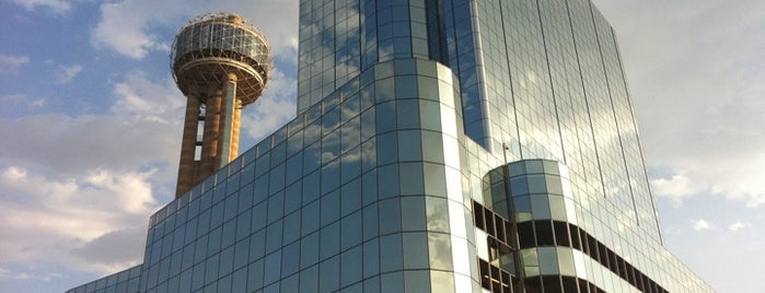 Hyatt Regency Dallas is one of Monavie Offices and meeting places..