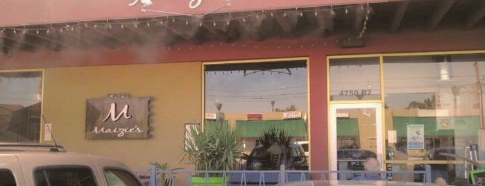 "Maizie's Cafe & Bistro is one of Featured on PBS' ""Check, Please! Arizona""."