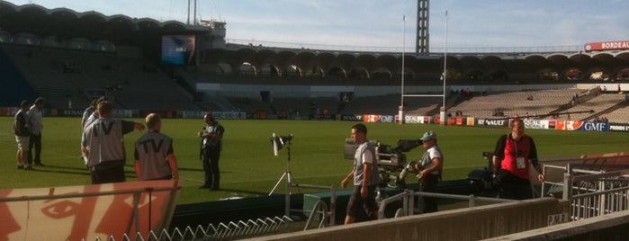 Stade Chaban Delmas is one of Stades de Ligue 1.