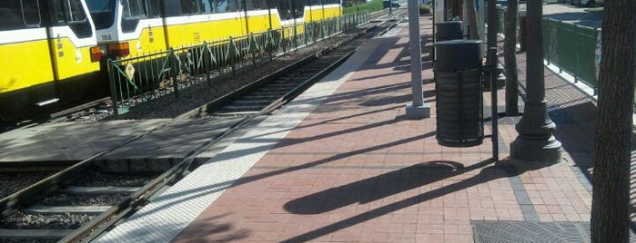 Downtown Plano Station (DART Rail) is one of DART Orange Line.