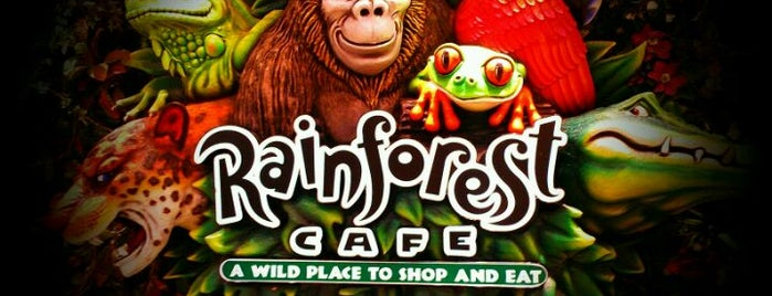 Rainforest Cafe is one of Los Angeles.