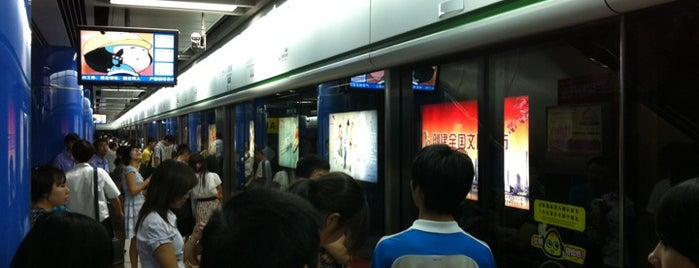 地铁万胜围站 - Wanshengwei Metro Station is one of 廣州 Guangzhou - Metro Stations.