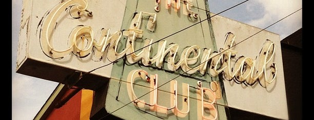 The Continental Club is one of STA Travel - Austin's Best Live Music Spots.