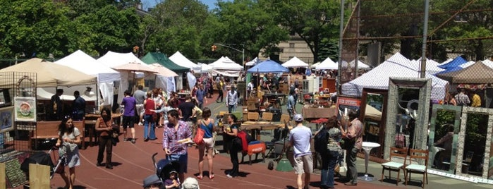 Brooklyn Flea - Fort Greene is one of Exploring.