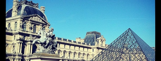 Pyramide du Louvre is one of Paris must see.