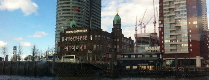 Hotel New York is one of #010 op z'n #Rotterdamst.