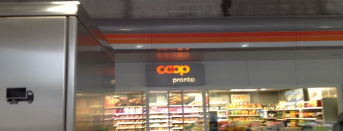 Coop Pronto is one of Coop Tankstellen.