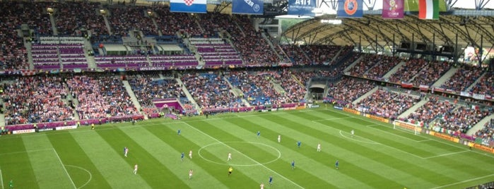 INEA Stadion is one of UEFA EURO 2012 venues.