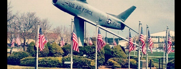 Hanscom Air Force Base is one of AFBs.