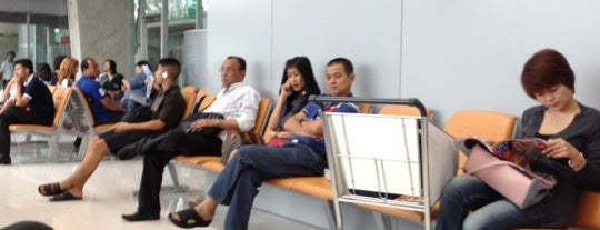 Gate B1 is one of TH-Airport-BKK-1.