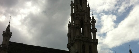 Brussels Town Hall is one of Bruxelles.