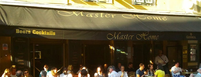 Master Home is one of FR2DAY's Favourite Cafés & Bars on the Côte d'Azur.