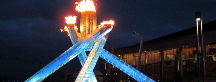 Vancouver 2010 Olympic Cauldron is one of The best spots in Vancouver, BC! #4sqCities.