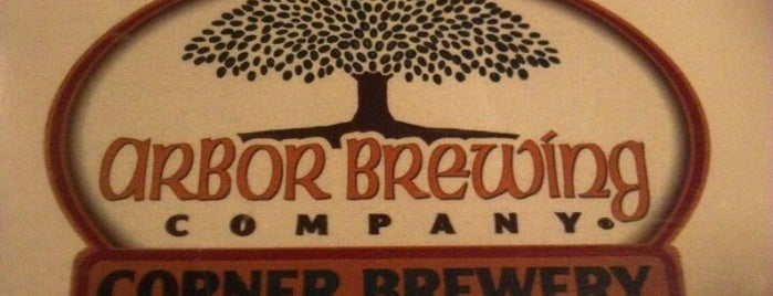 Arbor Brewing Company Microbrewery is one of Breweries.