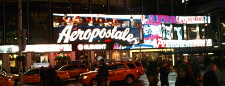 Aéropostale is one of NYC.