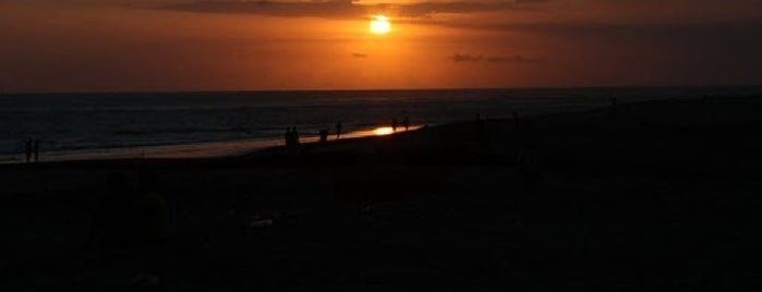 Pantai Berawa (Berawa Beach) is one of Beautiful Beaches in Bali.