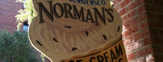 Norman's Ice Cream & Freezes is one of Bay Area Ice Cream.