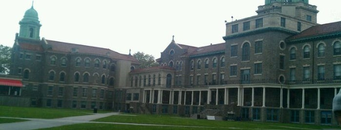 DeChantal Hall - Immaculata University is one of Immaculata University Campus.