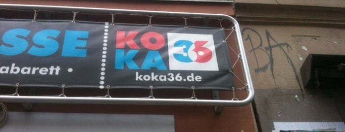 Koka36 is one of Berlin And More.