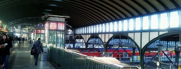 Darmstadt Hauptbahnhof is one of Bahnhöfe DB.