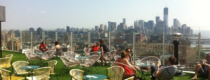 Le Bain is one of NYC Rooftops.