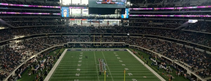 AT&T Stadium is one of Best Stadiums.