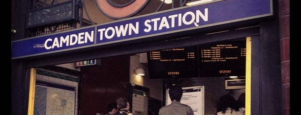 Camden Town London Underground Station is one of Zone 1 Tube Challenge.