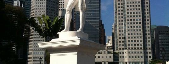 Sir Stamford Raffles Statue (Raffles' Landing Site) is one of Simply Singapore.