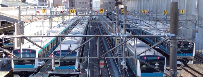Higashi-Jujo Station is one of 京浜東北線.