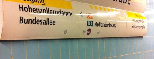 U Spichernstraße is one of Besuchte Berliner Bahnhöfe.