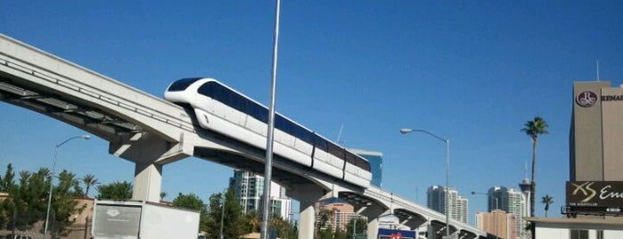 Las Vegas Monorail - Convention Center Station is one of Vegas.