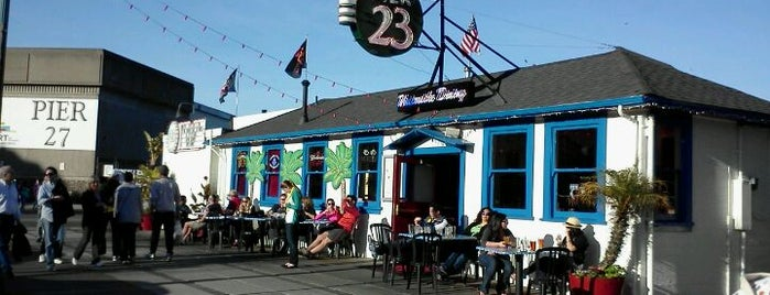 Pier 23 Cafe is one of The Best Outdoor Bars in San Francisco.