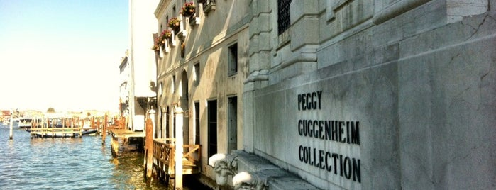 Collezione Peggy Guggenheim is one of Venezia sights.