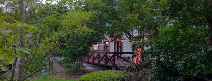 鵆の湯 is one of 温泉.