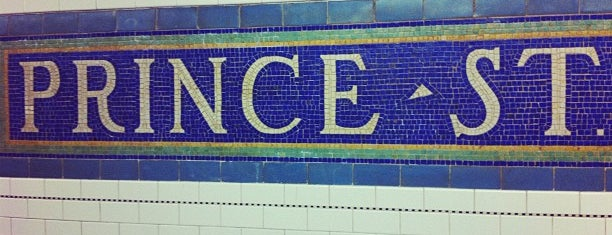 MTA Subway - Prince St (R/W) is one of MTA Subway - N Line.