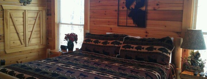 Moonlight Obsession Rental Cabin by Cabin Fever Vacations is one of Pet Friendly Cabins in the Smokies.