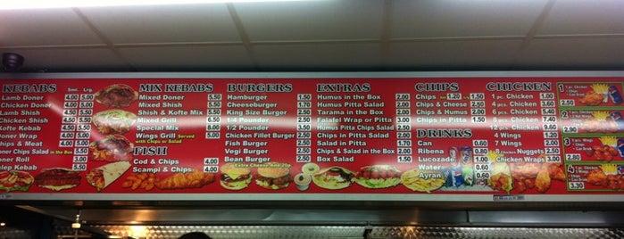 Best Turkish Kebab is one of London.