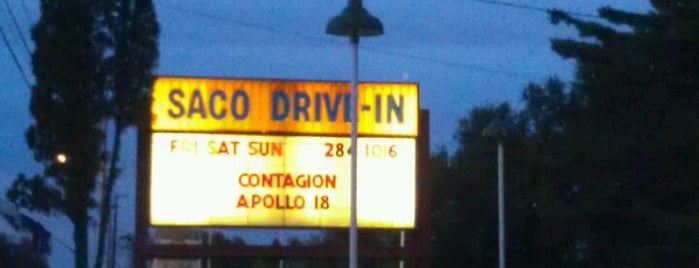 Saco Drive-In Theater is one of A local's guide: Weekend in Wells, ME.