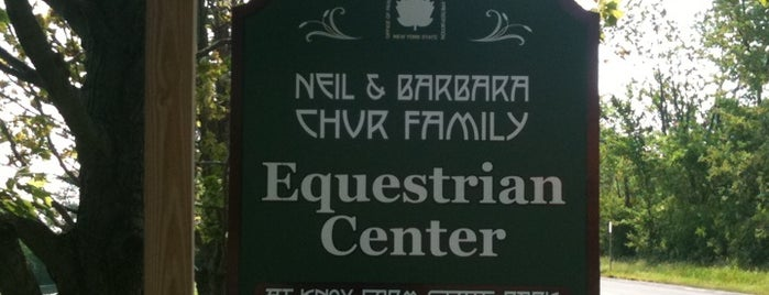 Neil & Barbara Chur Family Equestrian Center is one of East Aurora, NY.