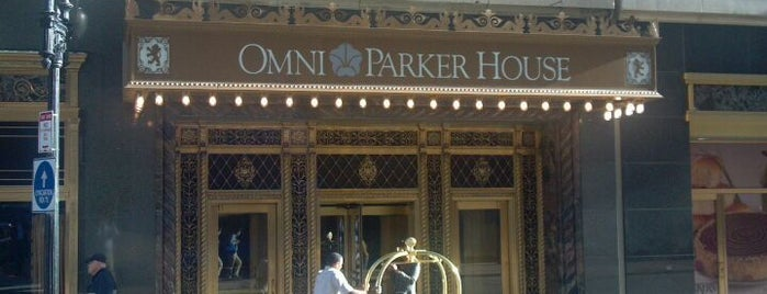 Omni Parker House is one of Boston City Badge - Beantown.