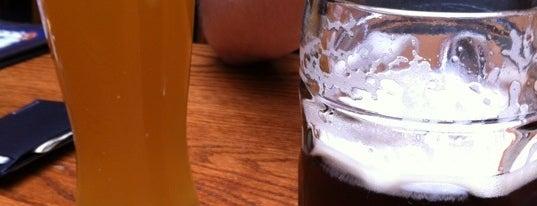 Hofbräu Bierhaus NYC is one of European Beers in NYC.