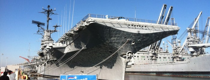 USS Hornet - Sea, Air and Space Museum is one of Best Places to Check out in United States Pt 2.