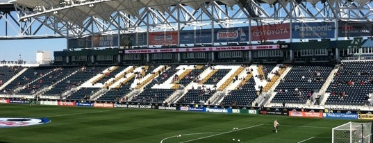 Talen Energy Stadium is one of MLS Stadiums.