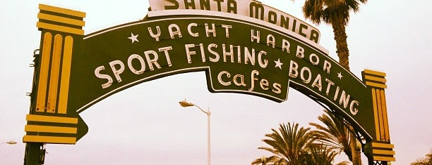 Santa Monica Pier is one of Must See Places In LA.