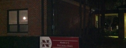 Marco J. Picciola Hall is one of Nicholls State University.