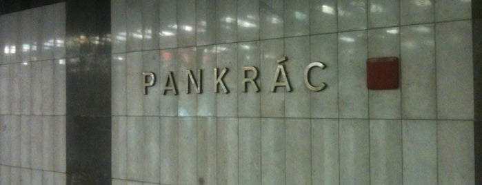Metro =C= Pankrác is one of Metro C.