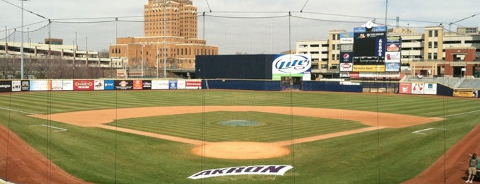 Canal Park is one of Akron Food.