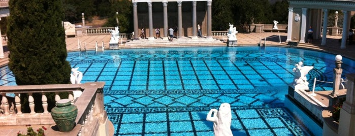 Hearst Castle is one of Scenic Route: US West Coast.