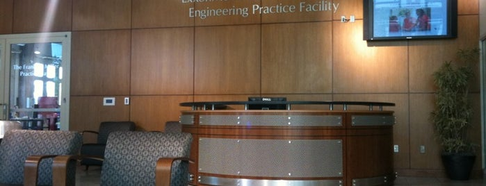 Exxonmobil Engineering Practice Facility is one of Official OU Tour.